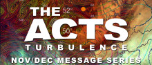 The Acts Turbulence: Dealing with Discouragement