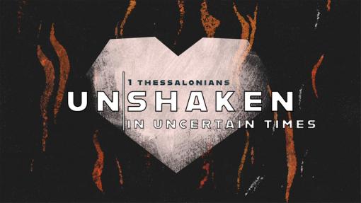 UNSHAKEN: Being Healthy